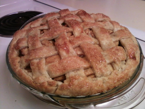make-up thanksgiving apple pie 2