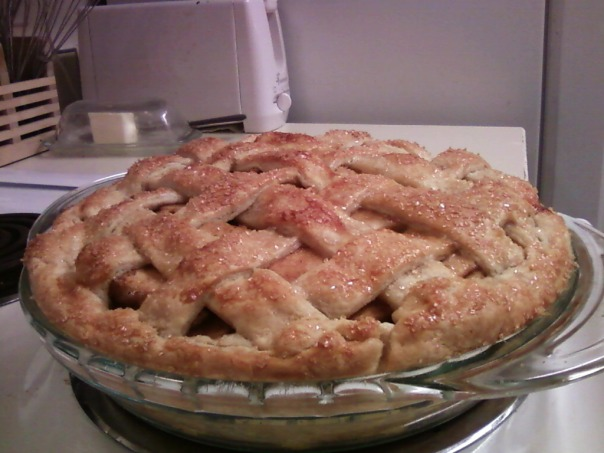 make-up thanksgiving apple pie