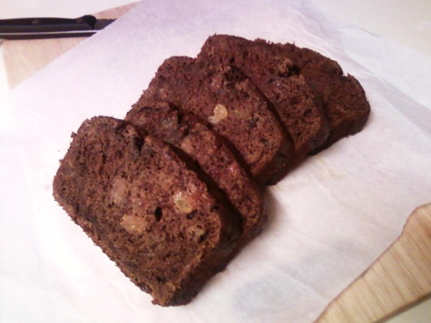banana raisin cocoa cinnamon slices 1