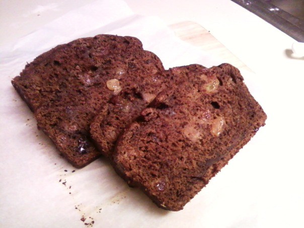 banana raisin cocoa cinnamon slices 2