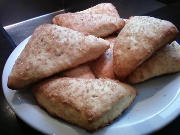 lemon ginger scones 1
