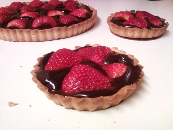 strawberry ganache tart twin #1 b