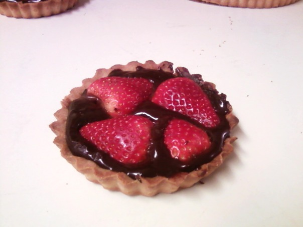strawberry ganache tart twin #2 a
