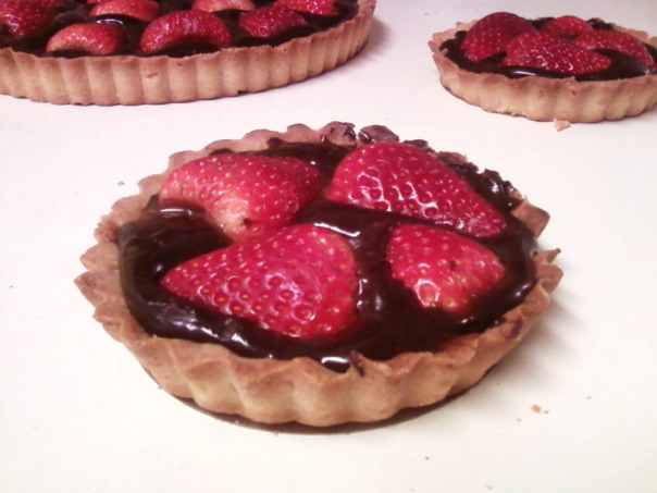 strawberry ganache tart twin #2 b