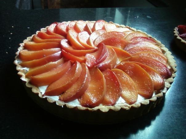 nectarine tart 1