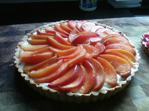 nectarine tart 2