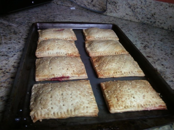 toaster pastry strawberry and rhubarb 4