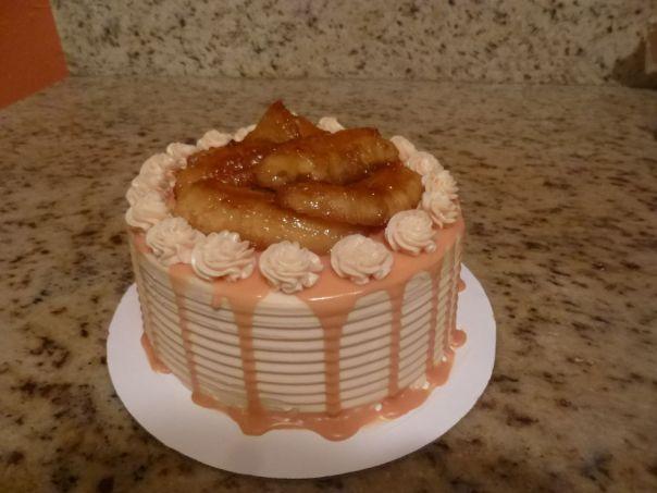 caramel banana cake 5