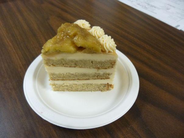 caramel banana cake slice 2