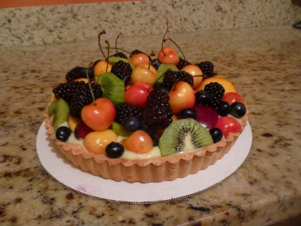 lemon fresh fruit tart 1