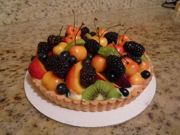 lemon fresh fruit tart 2