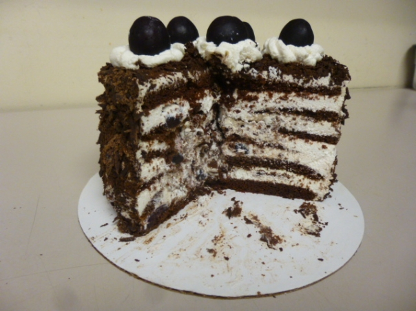 black forest cake section 1