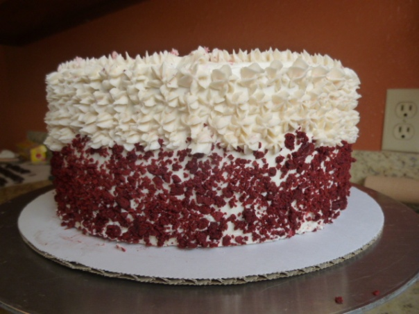 peppermint red velvet cake 4