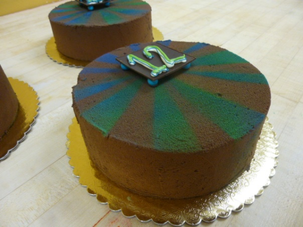 mint chocolate mousse cake 4