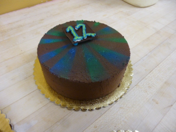 mint chocolate mousse cake 2