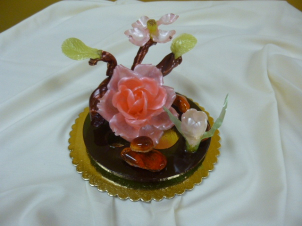 pulled sugar showpiece 4